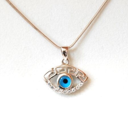 925 Sterling Silver, Evil Eye Pendant
