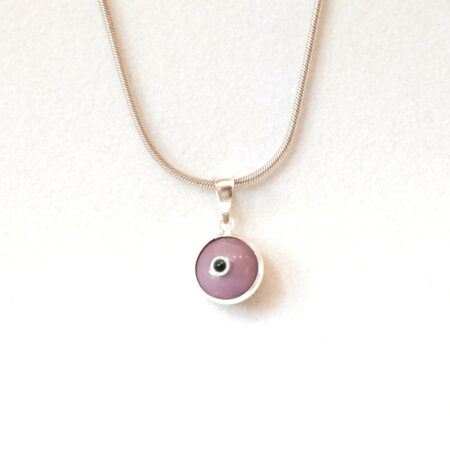 925 Sterling Silver Purple Lapis Pendant