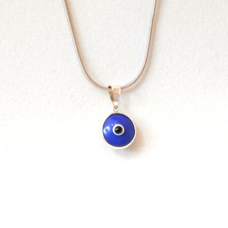 925 Sterling Silver Royal Blue Lapis Pendant