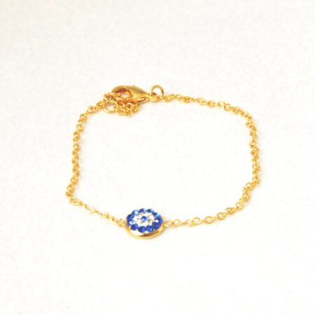 Crystal Evil Eye Fashion Bracelet