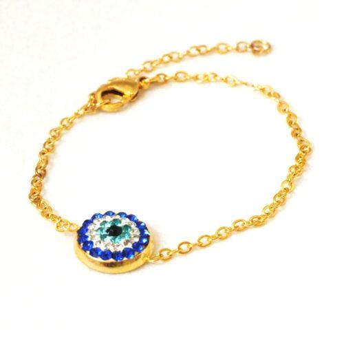 Crystal Evil Eye Fashion Bracelet