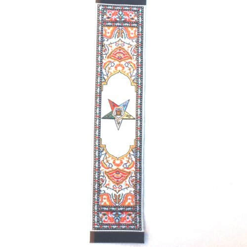 Eastern Star Tapestry Bookmark