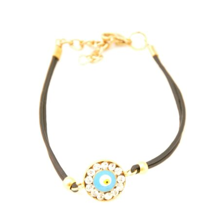 Evil Eye , Crystal Fashion Bracelet