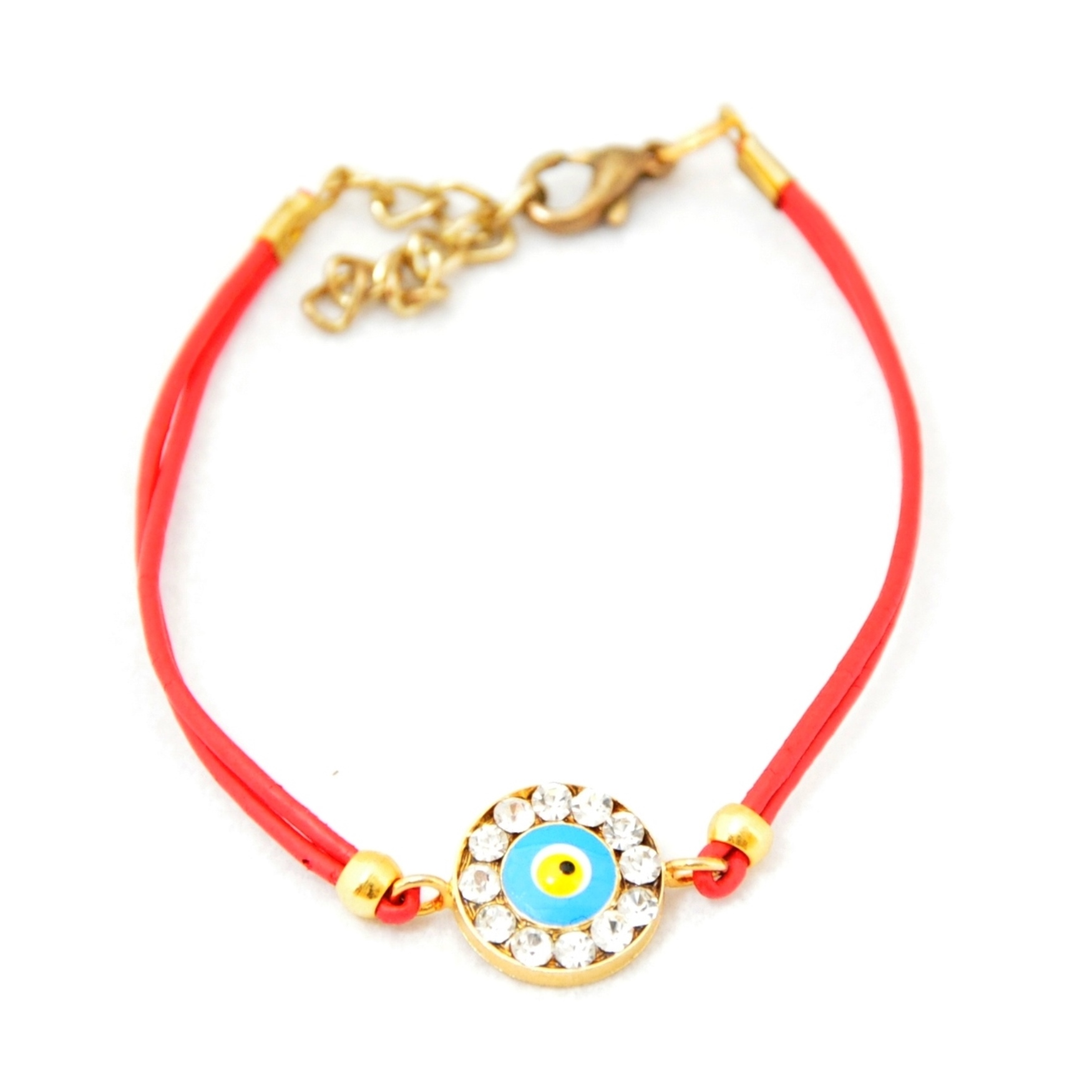 Evil Eye Crystal Fashion Bracelet