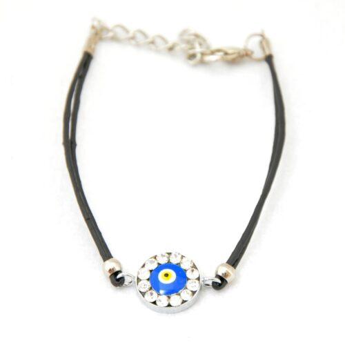 Evil Eye , Crystal Fashion Bracelet