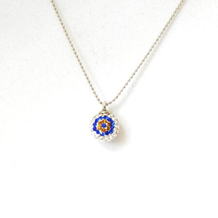 Evil Eye,  Crystal Fashion Necklace