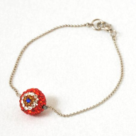 Evil Eye Crystal Shamballa  Fashion Bracelet