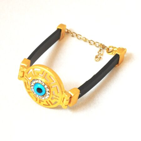 Evil Eye Greek Style Round  Fashion Bracelet