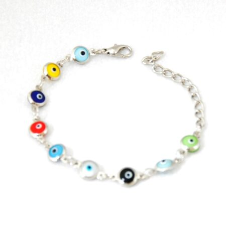 Evil Eye Multicolor, Fashion Bracelet