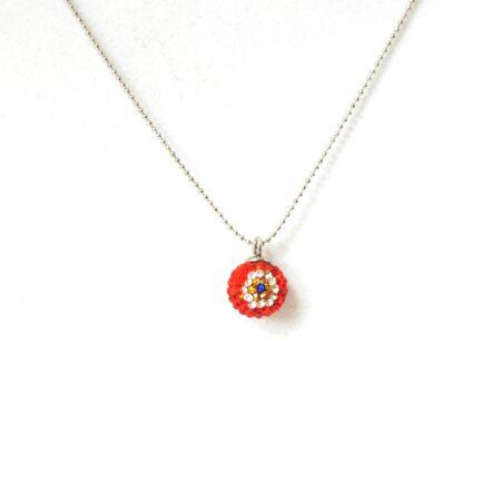 Evil Eye, Shamballa, Crystal Fashion Necklace