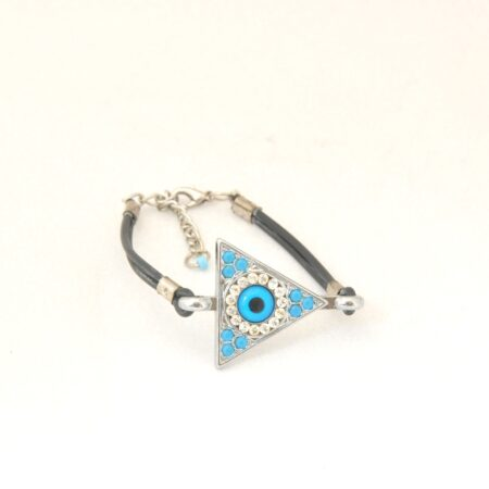 Evil Eye, Triangle shaped,  Fashion Bracelet
