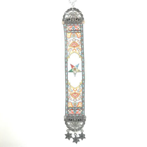 Hanging Eastern Star Jewish Tapestry Banner
