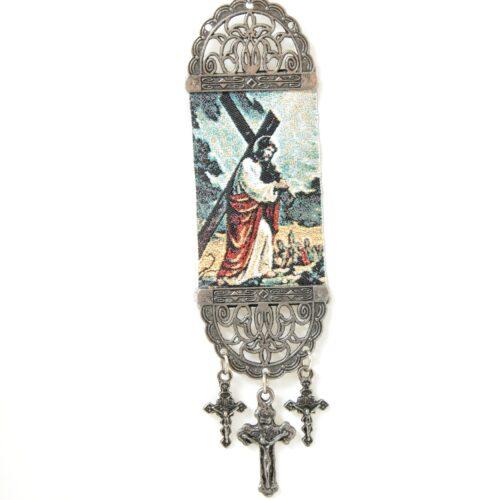 Jesus , Hanging Cross Tapestry Banner