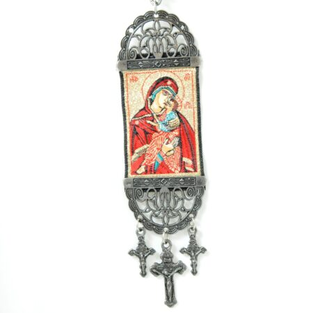 Madonna Magdelena Mary, Hanging Cross Tapestry Banner