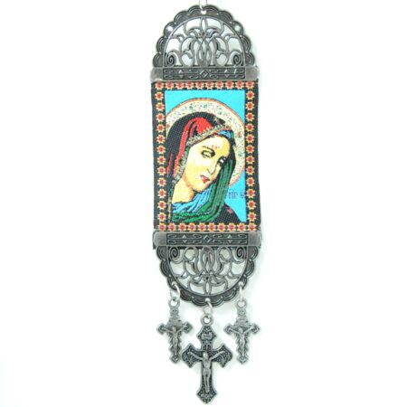 Madonna Mary Magdelena, Hanging Cross Tapestry Banner
