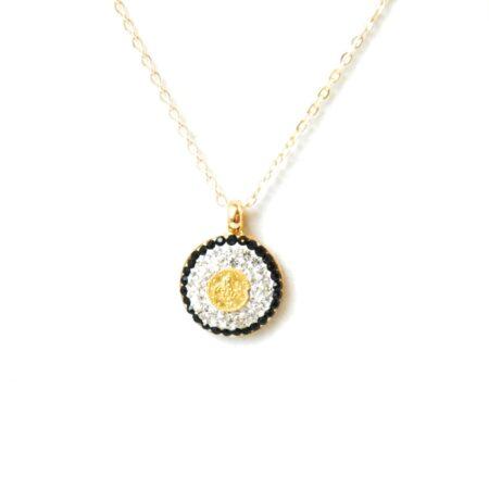 Ottoman, Crystal Fashion Necklace